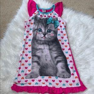 Other - Kitty pajama dress